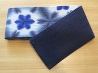 藤井絞り半巾帯 裏表.JPG