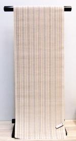 山下健 紙布 八寸帯.JPG