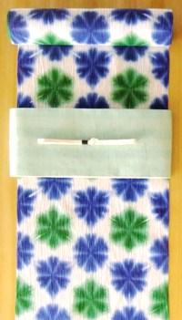 藤井絞浴衣&半巾帯コーディネイト.JPG