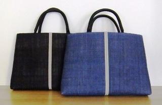 麻トートバッグ(黒、紺).JPG