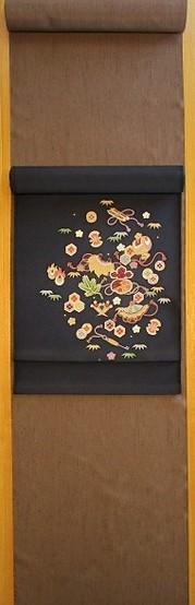 たてぶし紬 茶 コーディネート 200px.jpg