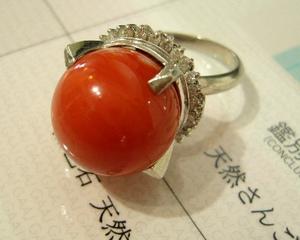 PTサンゴ指輪 保付.JPG