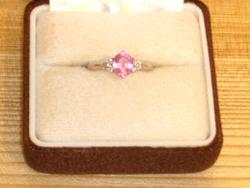 9月ブログPTピンクサファイヤ指輪.JPG